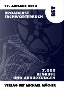 Fachbuch BET Broadcast Fachwörterbuch