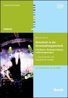 Fachbuch BET Sicherheit in der Veranstaltungstechnik